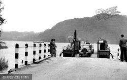 Bowness-on-Windermere, The Ferry Arriving At The Nab c.1955
