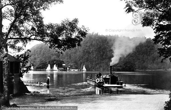 Bowness On Windermere, The Ferry Boat 1896
