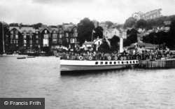 Bowness-on-Windermere, The M.V. Swift And Old England Hotel c.1910, Bowness-on-Windermere