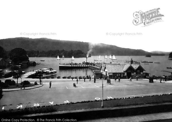 Bowness On Windermere, The Pier 1929