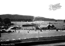 Bowness-on-Windermere, The Pier 1929
