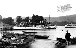 Bowness-on-Windermere, The Pier c.1955