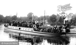 Bowness-on-Windermere, The Pleasure Steamer, Teal 1896