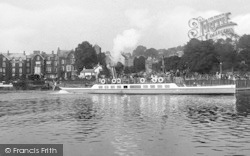 Bowness-on-Windermere, The Pleasure Steamer 'teal' On The Lake 1912, Bowness-on-Windermere