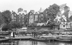 Bowness-on-Windermere, The Promenade 1912, Bowness-on-Windermere