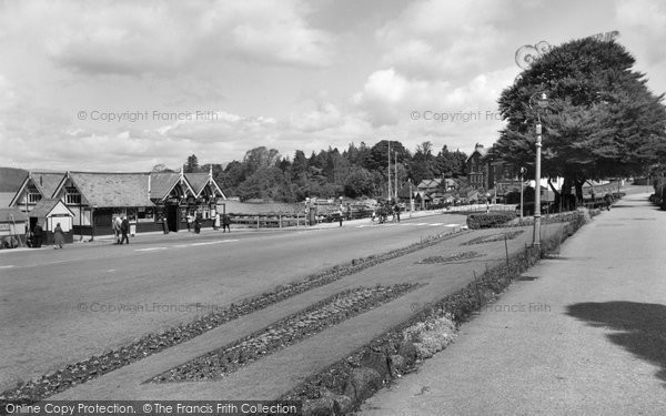 Bowness On Windermere, The Promenade 1958