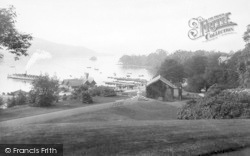 Bowness-on-Windermere, The Promenade From Belsfield Hotel 1912, Bowness-on-Windermere