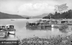 Bowness-on-Windermere, The Quay c.1950, Bowness-on-Windermere