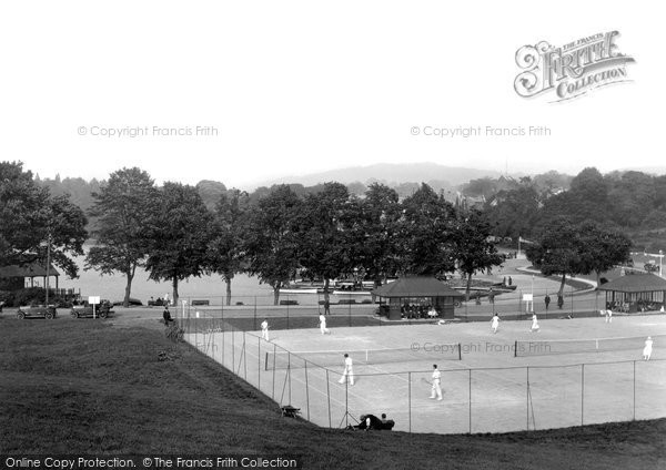 Bowness On Windermere, The Tennis Courts 1925