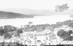 Bowness-on-Windermere, Towards Langdale Pikes 1893, Bowness-on-Windermere