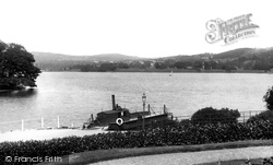 Bowness-on-Windermere, View From Ferry Hotel 1896