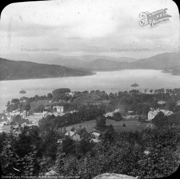 Bowness On Windermere, View From The Summit c.1880