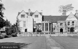 Box, Hazelbury Manor c.1955