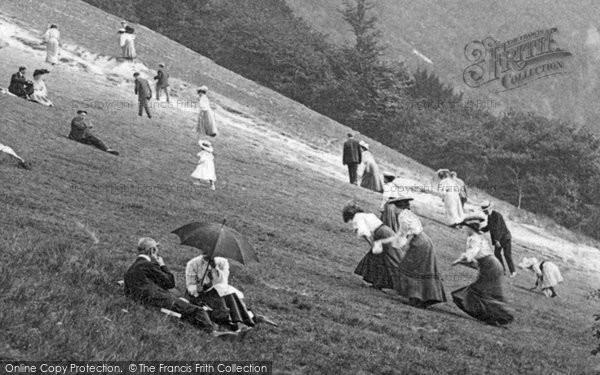 Box Hill, A Bank Holiday 1906