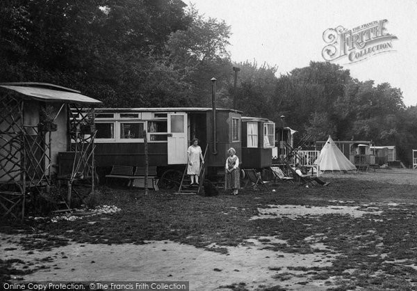 Box Hill, Caravans, Upper Farm Camp 1928