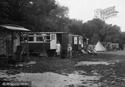 Caravans, Upper Farm Camp 1928, Box Hill