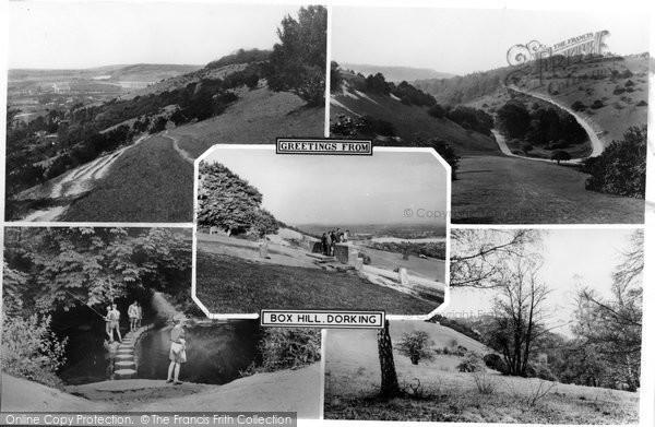 Box Hill, Composite c.1955