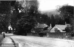 From Burford Bridge 1906, Box Hill