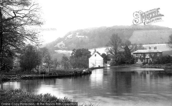 Photo of Box Hill, From Pixholme Lane 1890