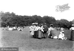 On Bank Holiday 1906, Box Hill