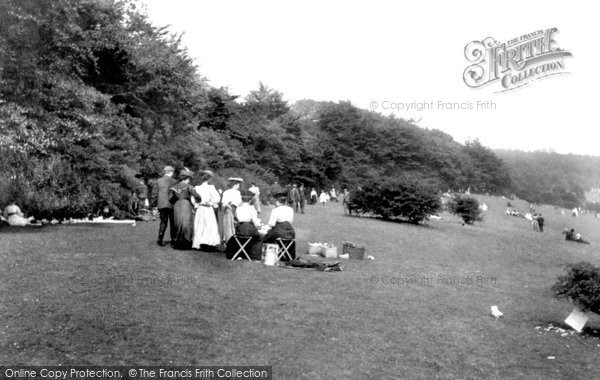 Photo of Box Hill, On Bank Holiday 1906