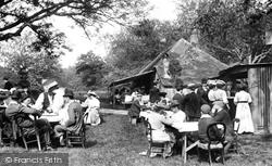 On Bank Holiday, Upper Farm Tea House 1906, Box Hill