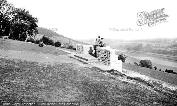 Photo of Box Hill, The Lookout 1906