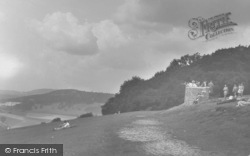 Box Hill, The Lookout c.1905