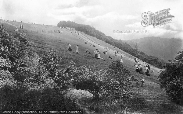 Photo of Box Hill, The Slopes 1906