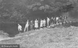Box Hill, The Stepping Stones c.1935