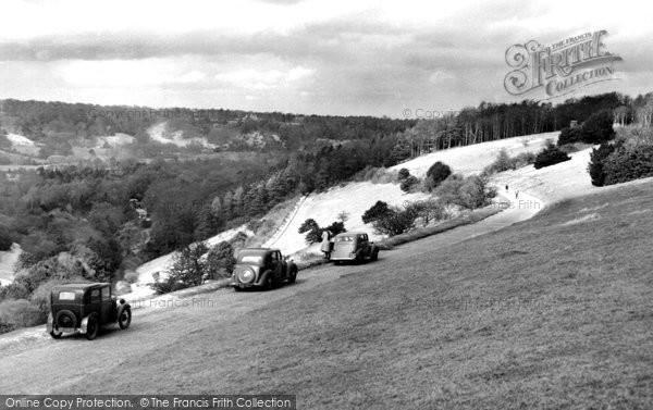 Box Hill, The Zig Zag c.1950
