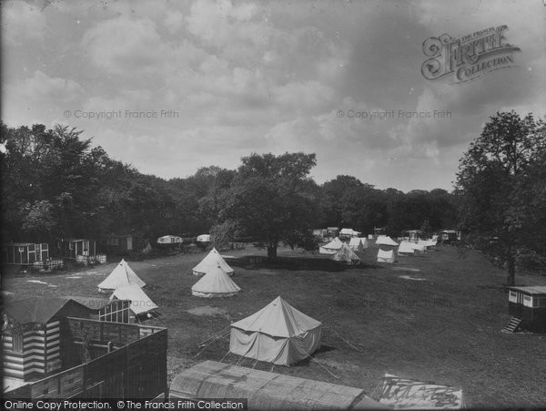 Box Hill, Upper Farm Camp 1935