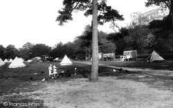 Box Hill, Upper Farm Camping Ground 1928