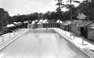 Box Hill, Upper Farm Swimming Pool 1938