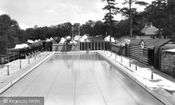 Upper Farm Swimming Pool 1938, Box Hill