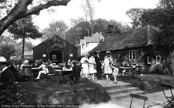Box Hill, Upper Farm Tea Gardens 1928