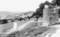 Box Hill, View From The Lookout c.1965