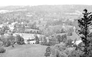 Box Hill, View Over Burford Bridge 1924