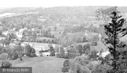 View Over Burford Bridge 1924, Box Hill