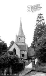 Box, St Thomas A'becket Church c.1955