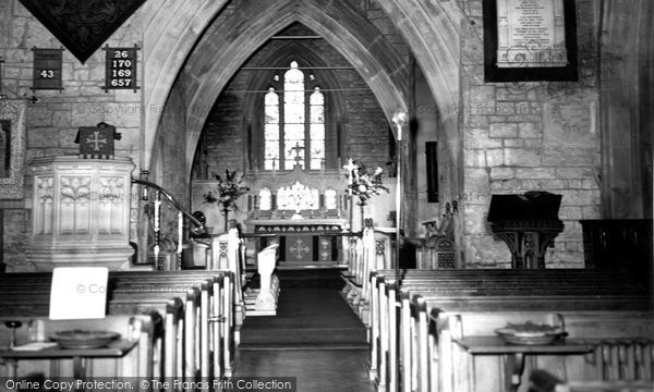 Box, The Altar, St Thomas A'becket Church c.1965