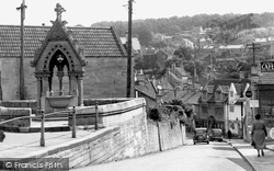 Box, The Parade And Market Place c.1955
