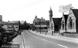Box, The School And Village c.1965