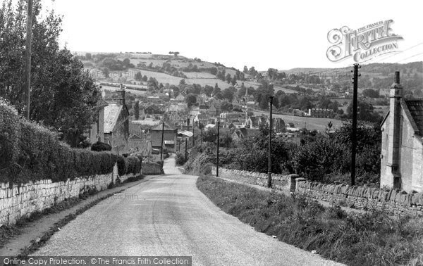 Box, View From Quarry Hill c.1955