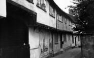 Boxford, Butchers Lane c.1965