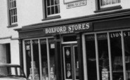 Boxford, Stores And Post Office c.1960