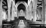 Boxford, The Church Interior c.1965