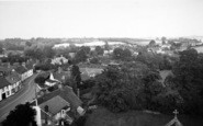 Boxford, View From Church Tower c.1965
