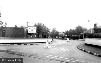 Boxgrove, Entrance to R.A.F Aerodrome, Tangmere c1960