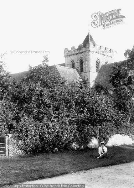 Boxgrove, Priory Church 1899